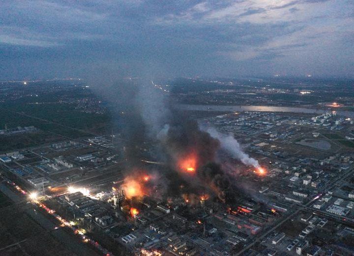 64 osoby zginęły w wybuchu w zakładach chemicznych