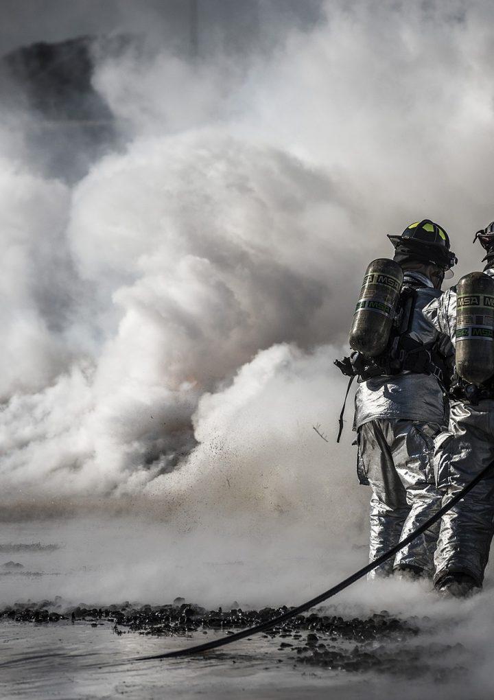 Pożar zakładu pod Kielcami