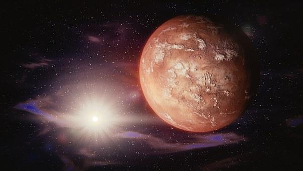 Ślady słonej wody na Marsie