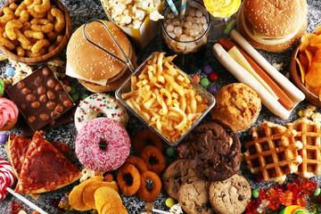 Wpływ niezdrowego jedzenia na organizm