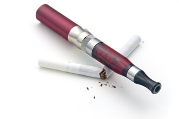 Poważne skutki stosowania e-papierosa