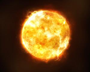 Szczegółowe zdjęcia powierzchni Słońca