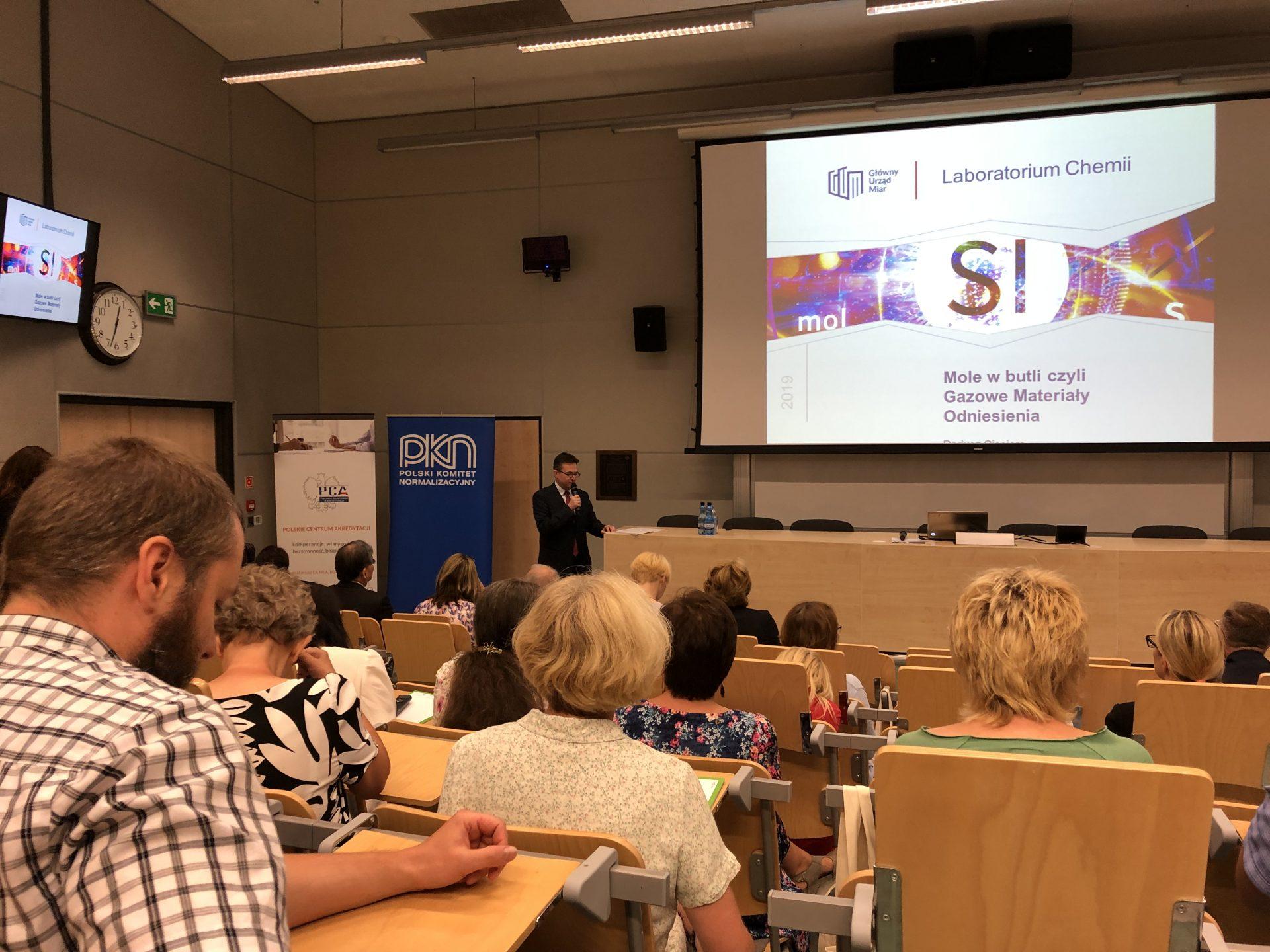 Czerwiec 2019, RM'2019 - Konferencja na temat materiałów odniesienia, Warszawa