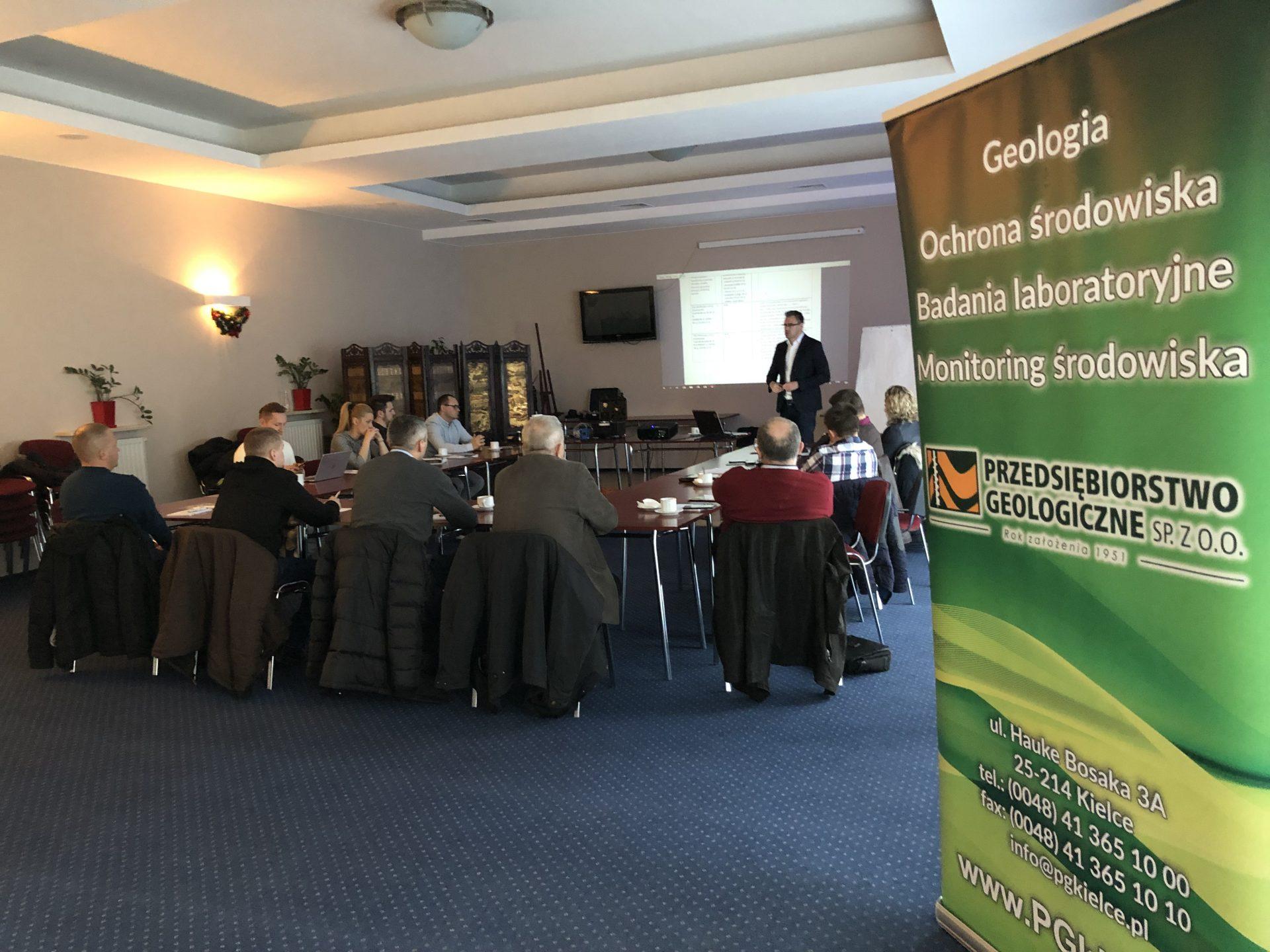 Styczeń 2019, szkolenie z zakresu pomiarów na stanowiskach pracy, Kielce