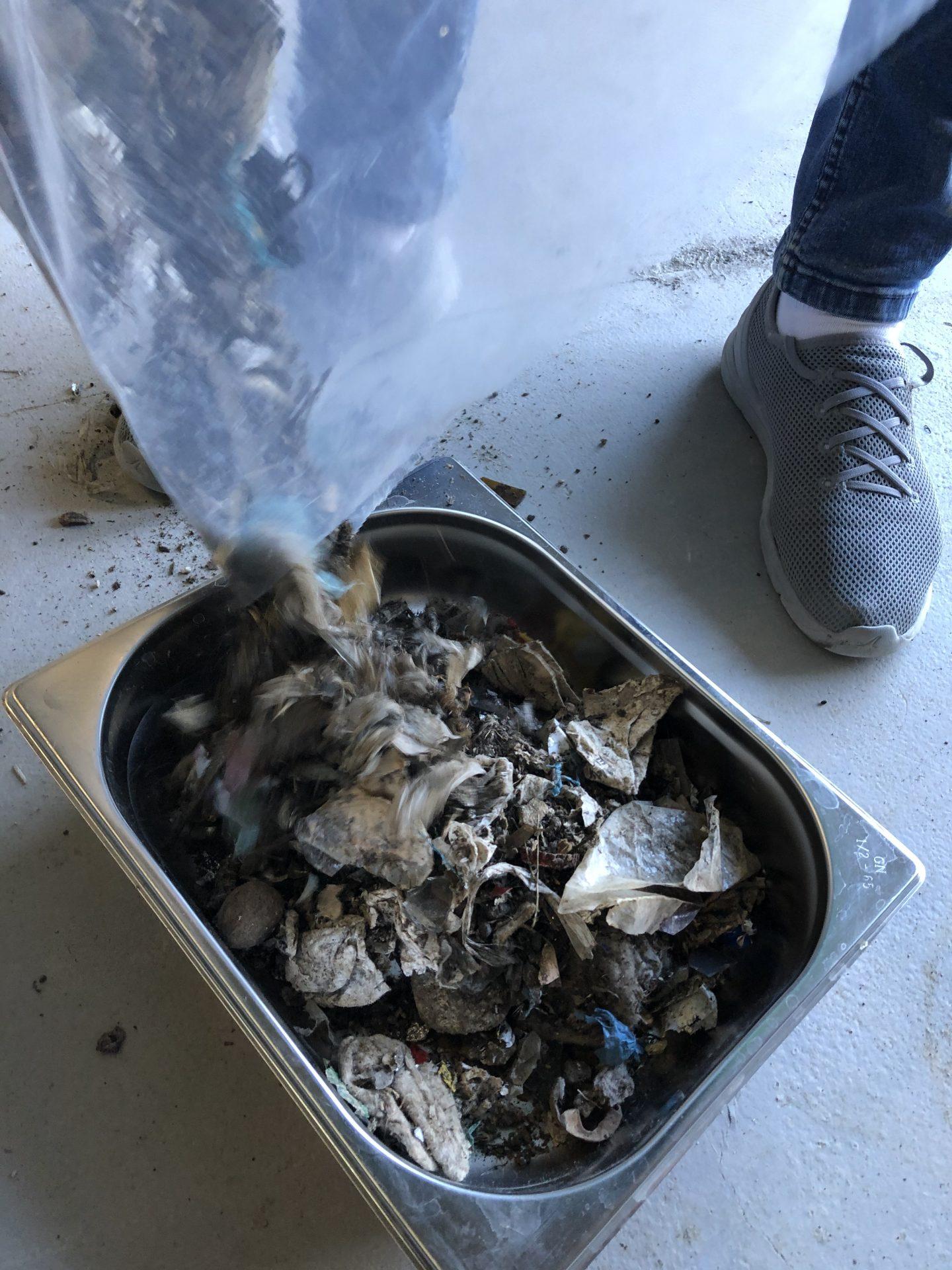 Próbka odpadów