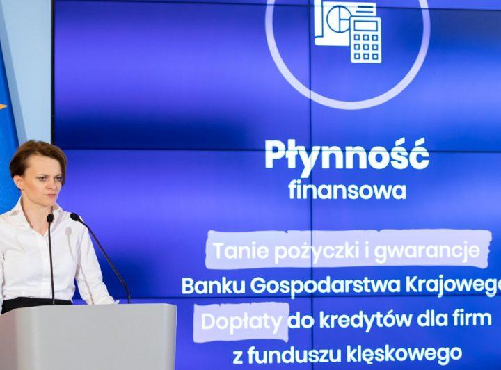 Jadwiga Emilewicz: Będzie specustawa dla gospodarki w sprawie koronawirusa