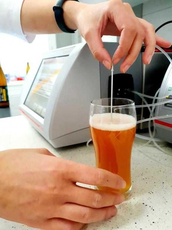 Laboratorium Stu Mostów bada piwa rzemieślnicze