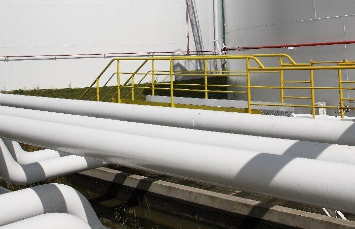 Kradzież paliwa z rurociągu pod Łodzią