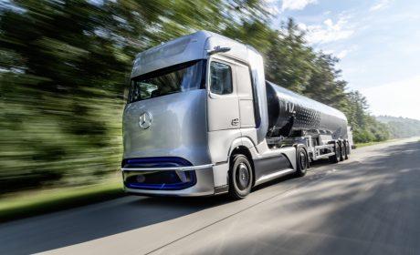 Daimler Trucks zaprezentował koncepcyjną ciężarówkę na wodór