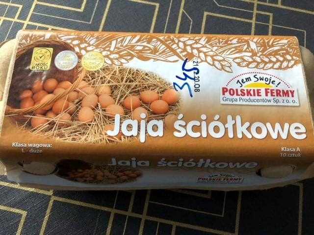 Ostrzeżenie publiczne dotyczące żywności: wykrycie pałeczek Salmonella spp. na powierzchni i w treści jaj