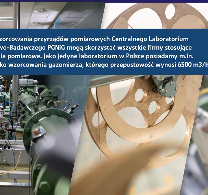 Wzorcowanie w laboratorium PGNiG